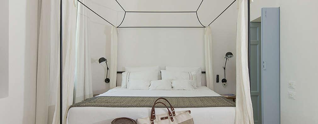 mediterranean Bedroom by STUDIOTALENT srl