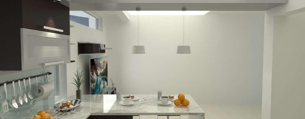 modern Kitchen by UNESPACIO360