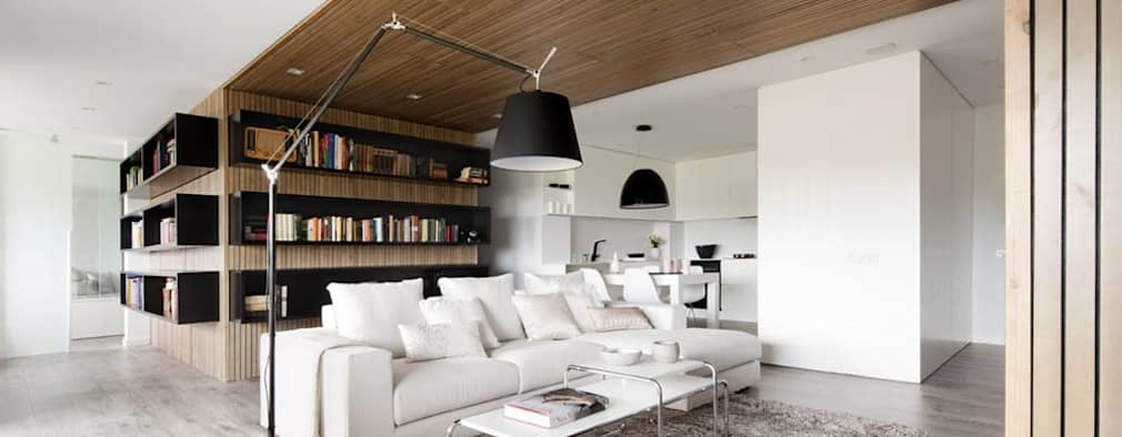 Media Room: minimalistic Media room by GSI Interior Design & Manufacture