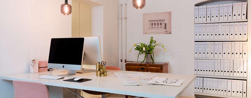 مكتب عمل أو دراسة تنفيذ Pamela Kilcoyne - Homify
