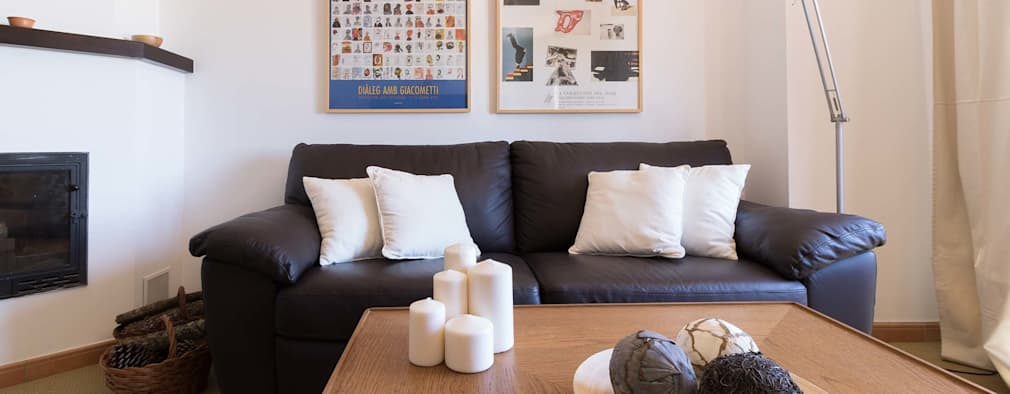 Salas de estilo escandinavo por Become a Home