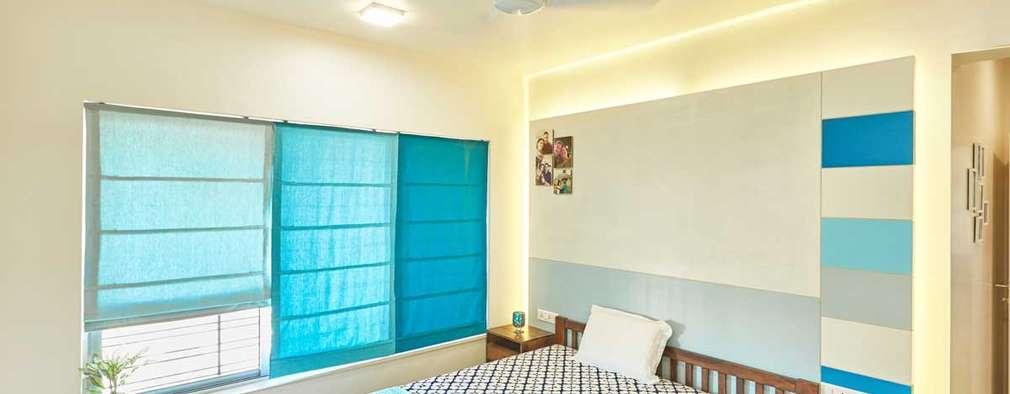 Master bedroom: eclectic Bedroom by iSTUDIO Architecture