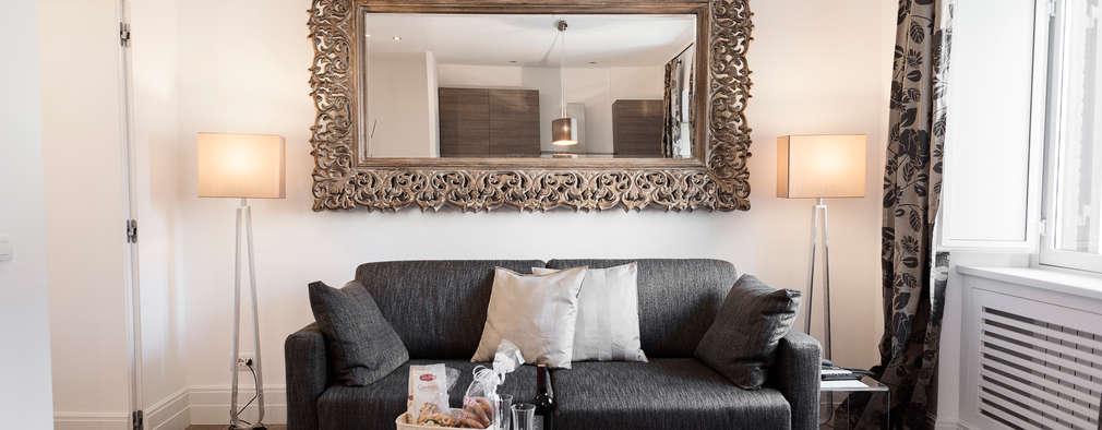Una casa elegante in stile classico moderno nel centro for Casa stile classico moderno