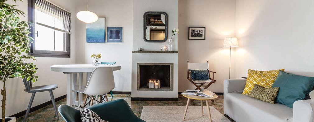 modern Living room by Boite Maison