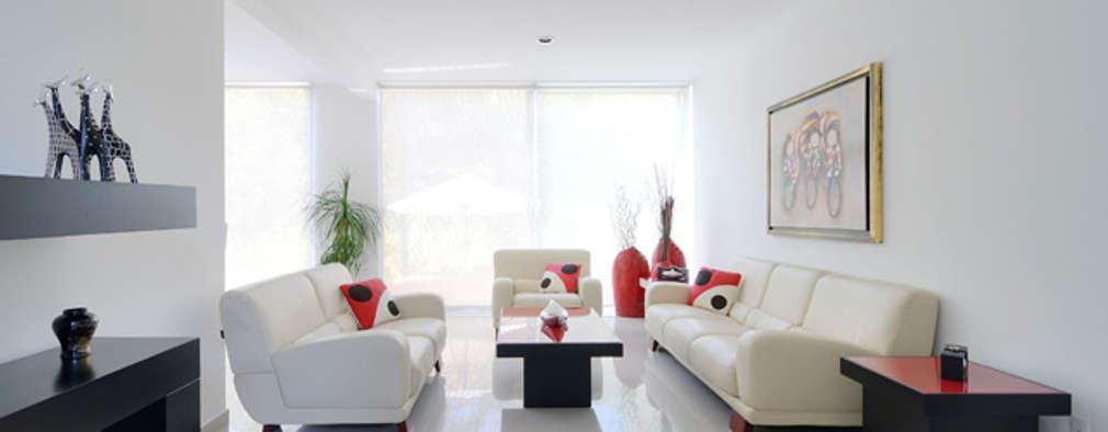 ห้องนั่งเล่น by Excelencia en Diseño