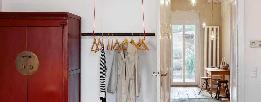 Vestidores de estilo industrial por Birgit Glatzel Architektin