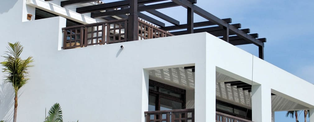 15 fachadas con balc n para que te inspires a dise ar la for Modelos de techos metalicos para casas