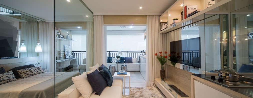18 salas de estar pequeñas y muy bonitas