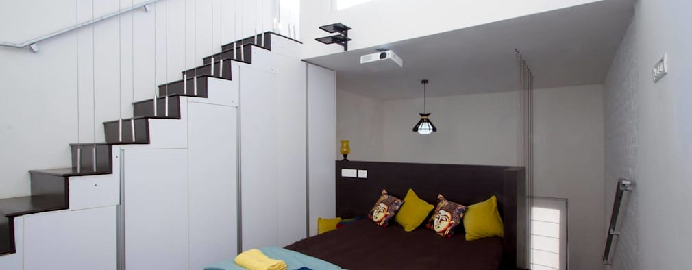 a smartly furnished small studio apartment in chennai