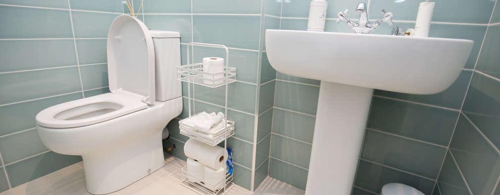 Casas de banho minimalistas por The Market Design & Build
