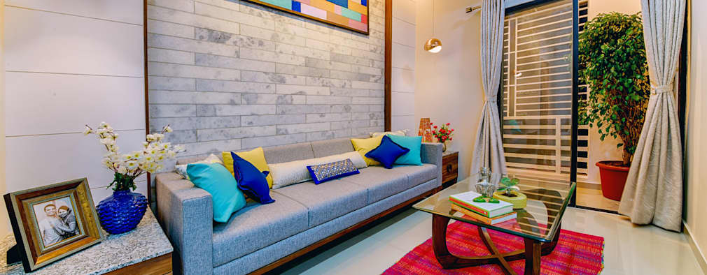 Livings de estilo ecléctico por Saar Interior Design