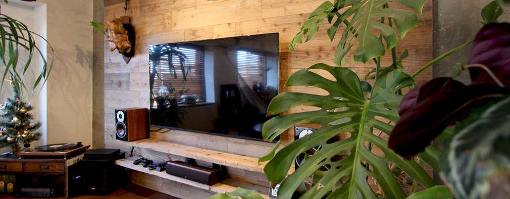 غرفة المعيشة تنفيذ nuリノベーション