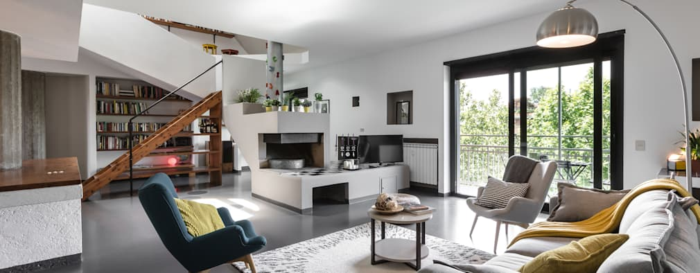 Moderne Wohnzimmer Von Architrek