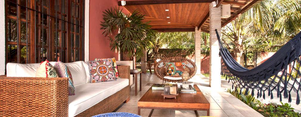 بلكونة أو شرفة تنفيذ  Spelzon Lima Arquitetura e Interiores