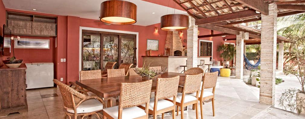 Terrazas de estilo  por  Spelzon Lima Arquitetura e Interiores