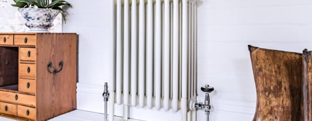 Bordo steel column radiator:   by Feature Radiators