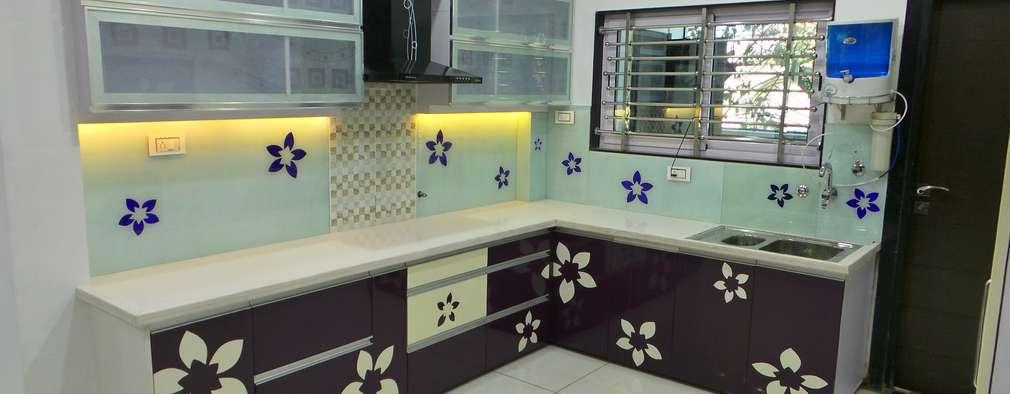 Кухни в . Автор – Shadab Anwari & Associates.