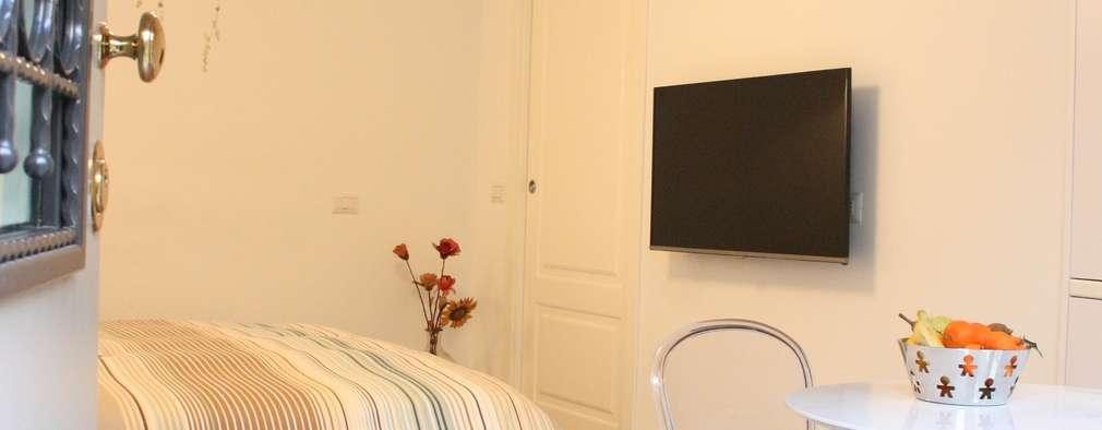 eclectic Living room by studio ferlazzo natoli