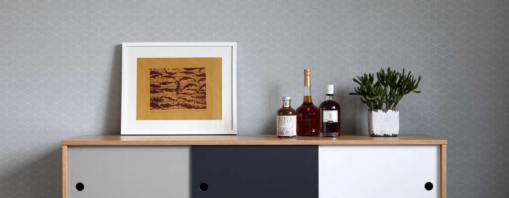 Retro-Sideboard für Esszimmer:   von Baltic Design Shop