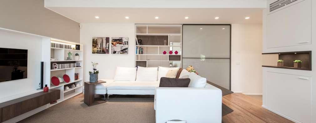 Raffinatezza e design un meraviglioso appartamento for Soggiorno minimalista