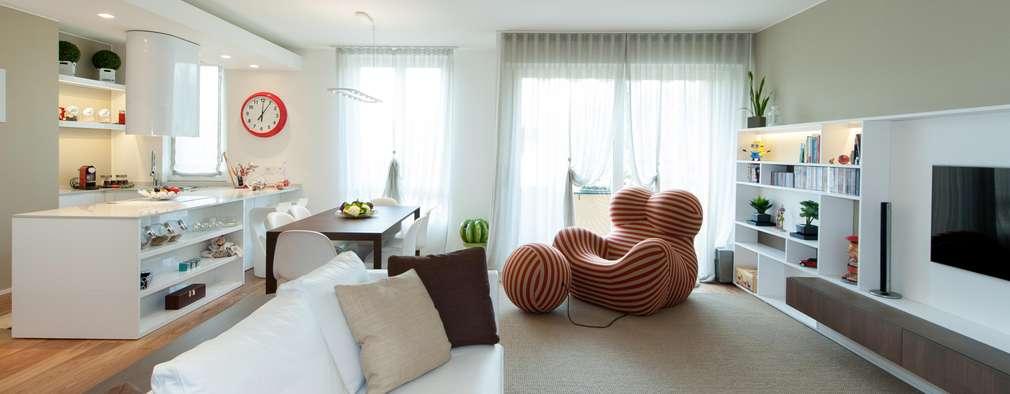 Diese Wohnung fasziniert mit ungewöhnlicher Innenarchitektur