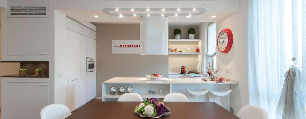 minimalistische Keuken door Studio Associato Casiraghi