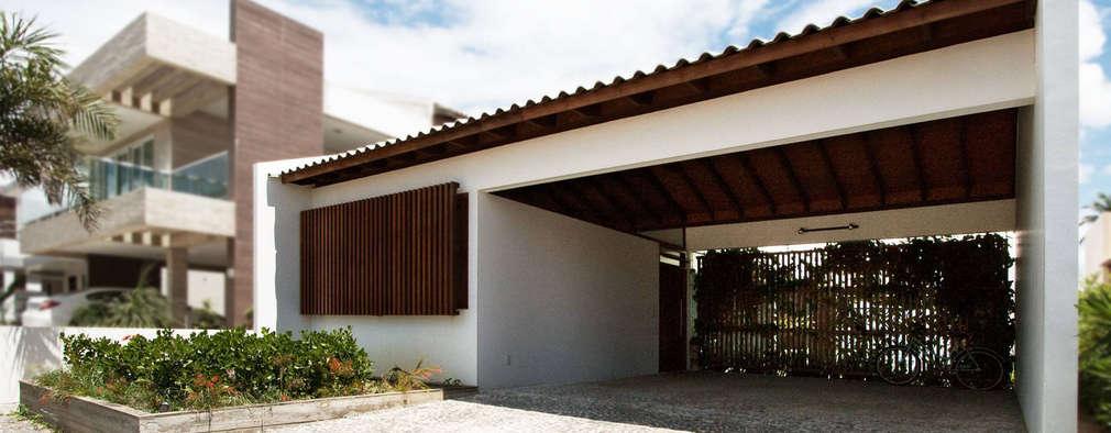 minimalistic Houses by Coletivo de Arquitetos
