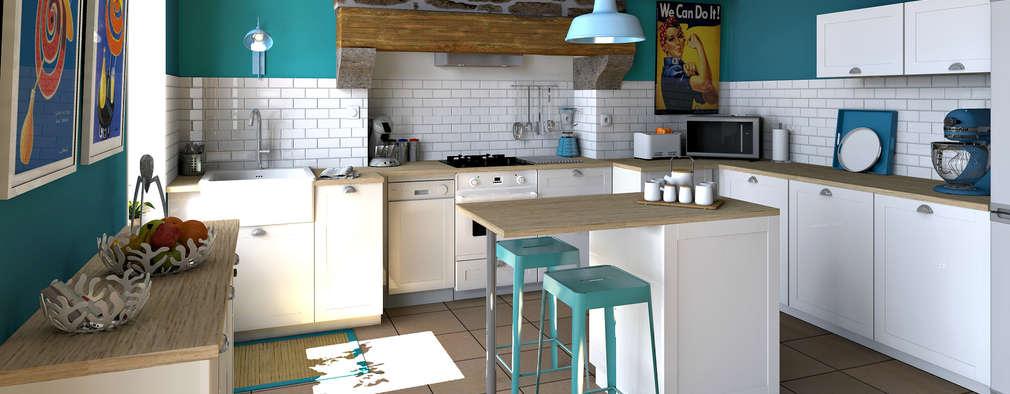 La transformation d 39 une cuisine pour seulement 5 000 - Transformation cuisine ...