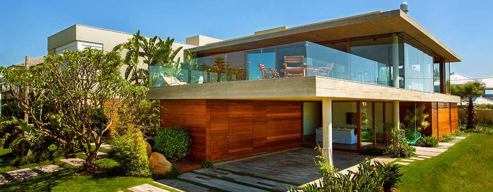 21 fachadas de ensue o con balc n y terraza que te van a for Terrazas internas