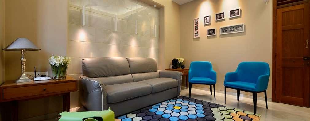 Projekty,  Salon zaprojektowane przez Aum Architects