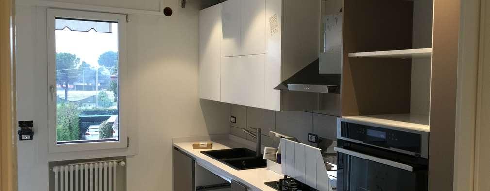 Кухни в . Автор – GEP gruppo edile padova di favaro mauro