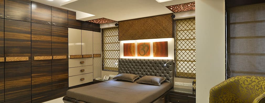 Other Interior projects: modern Bedroom by Aum Architects