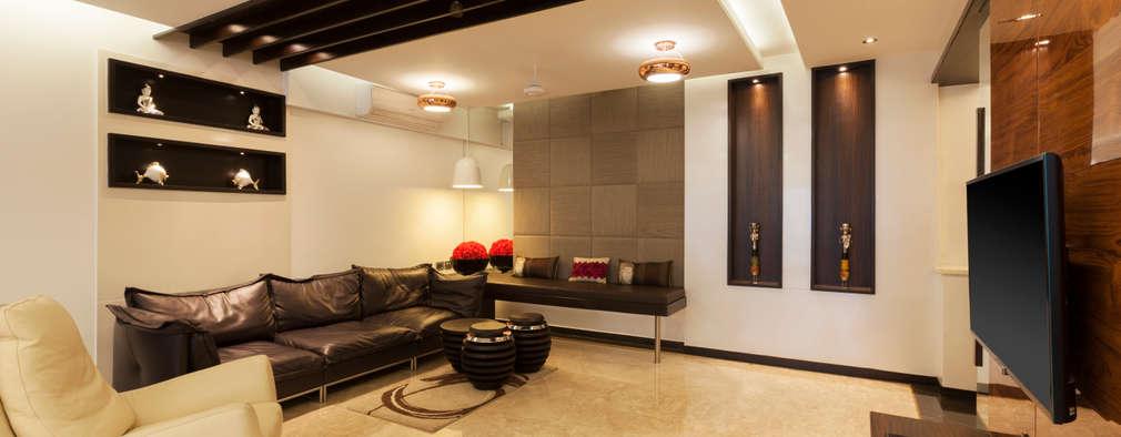 Flat @ Tirupur: modern Living room by Cubism