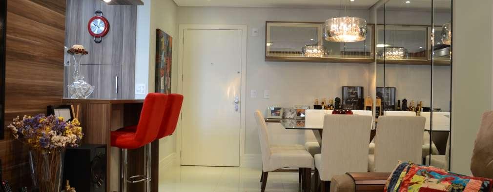 Expace - espaços e experiências: modern tarz Yemek Odası