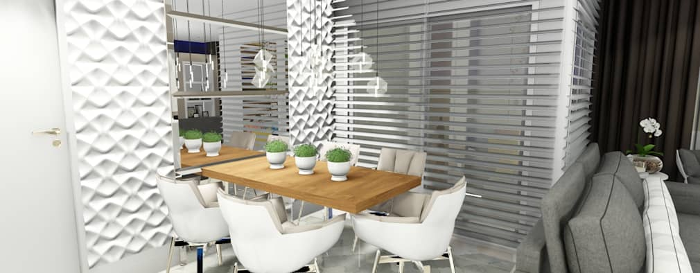 modern Dining room by Studio²
