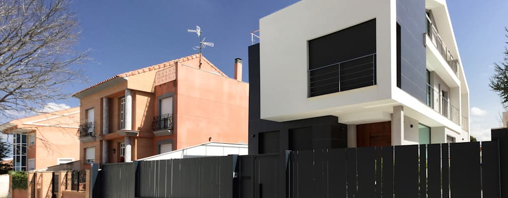 منازل تنفيذ arqubo arquitectos