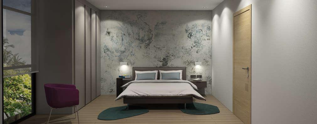 modern Bedroom by MAT Latinamerica