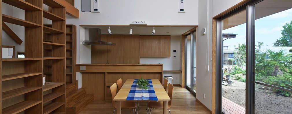 Столовые комнаты в . Автор – かんばら設計室