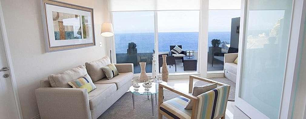 Terraza Pacifico 2 dormitorios:  de estilo  por VdecoracionesCL