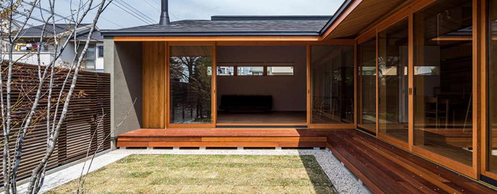 下野・南庭の家: 中山大輔建築設計事務所/Nakayama Architectsが手掛けたです。