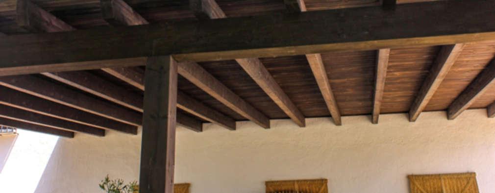 16 p rgolas de madera ideales para terrazas grandes y peque as - Pergolas de madera para terrazas ...