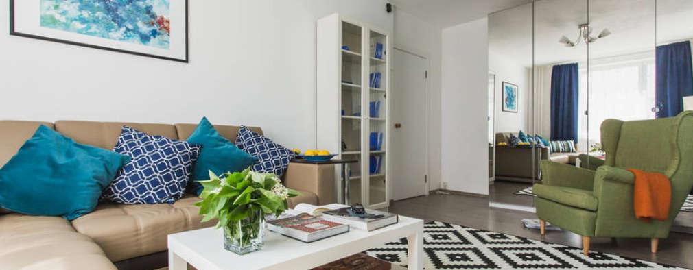 Квартира, Ленинский проспект:  в . Автор – L'Essenziale Home Designs