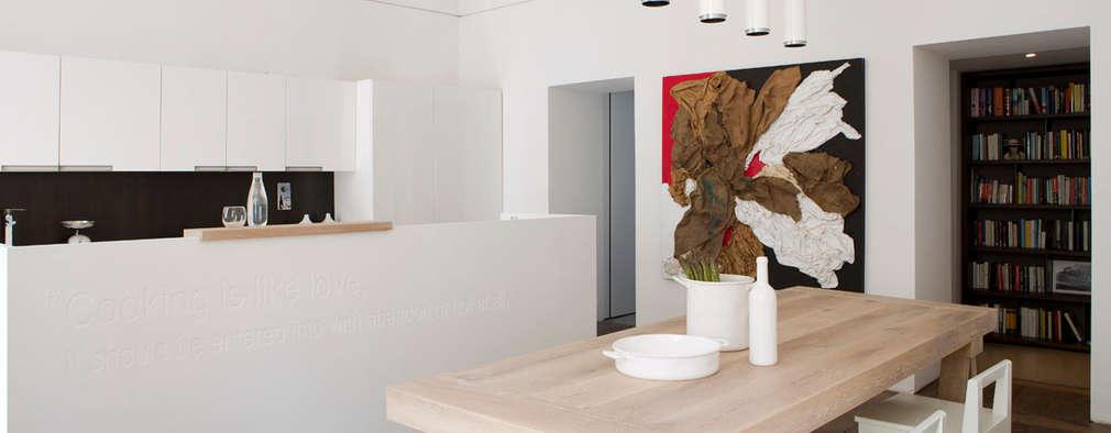 Comedores de estilo moderno por Studio Fabio Fantolino