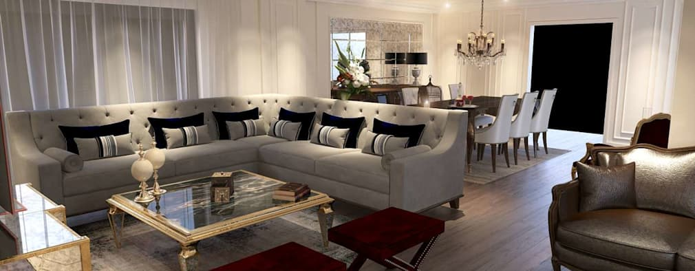 modern Living room by VERO CONCEPT MİMARLIK