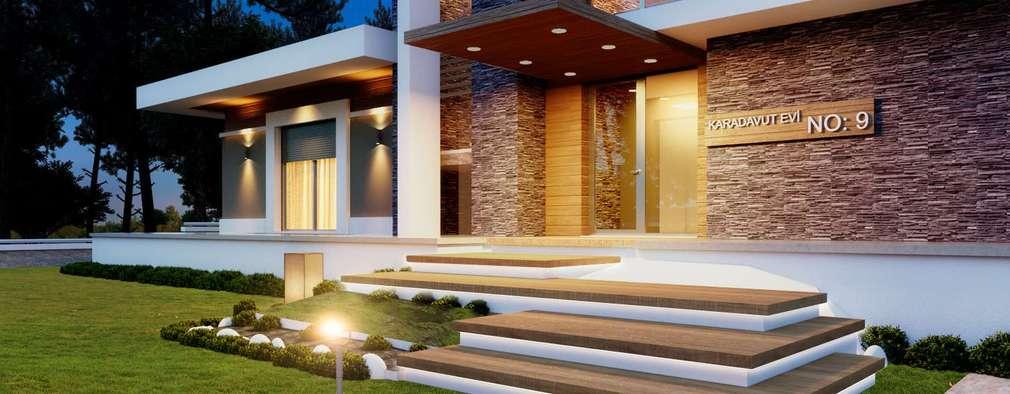 modern Houses by VERO CONCEPT MİMARLIK