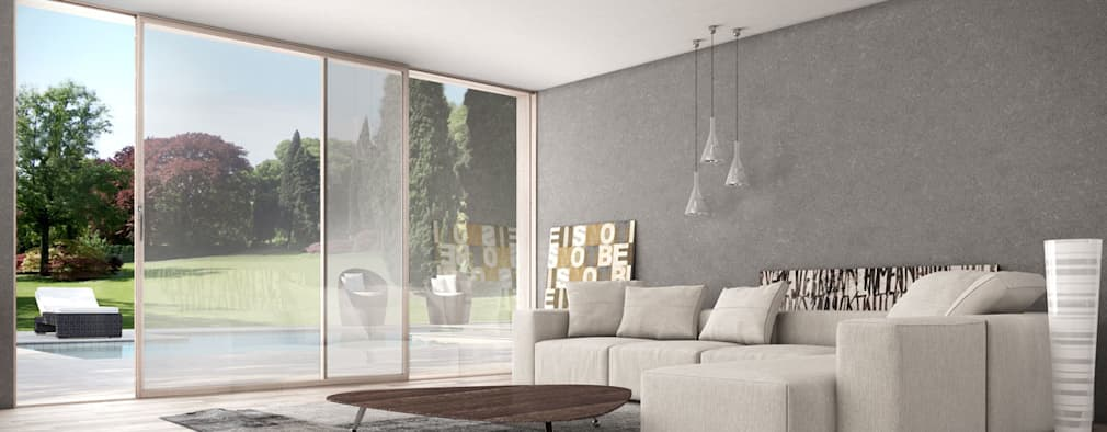 10 grandiose ideen f r eine terrasse mit schiebet r. Black Bedroom Furniture Sets. Home Design Ideas