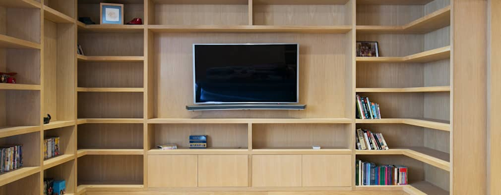 modern Media room by Blankstone