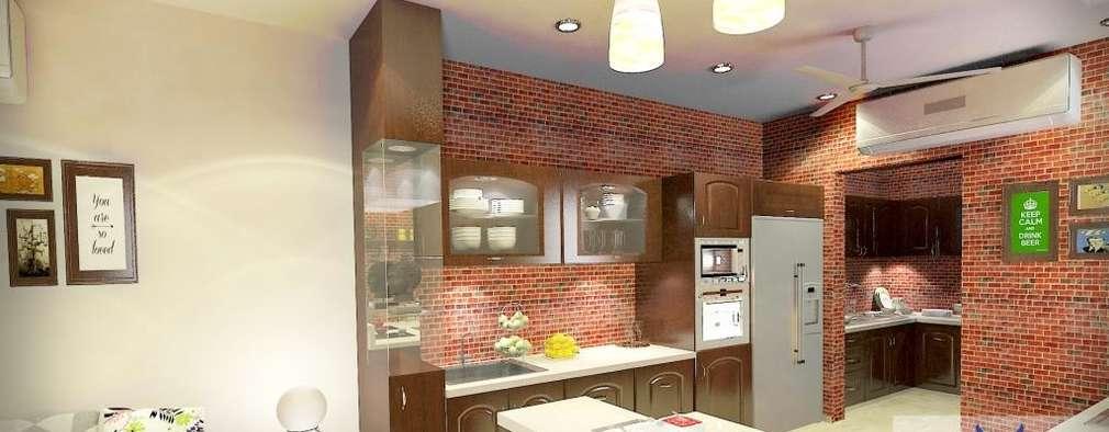 Interior design: modern Kitchen by Eternity Designers