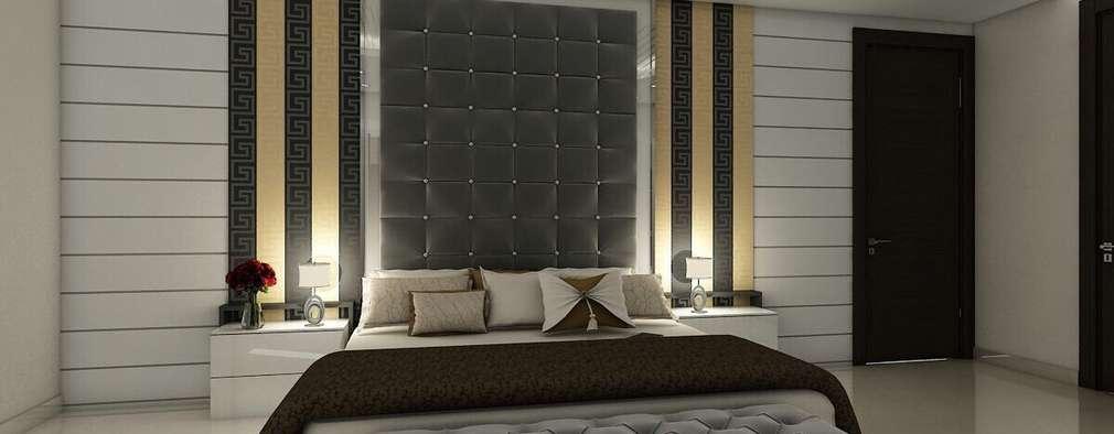 Dormitorios de estilo moderno por The Silversea