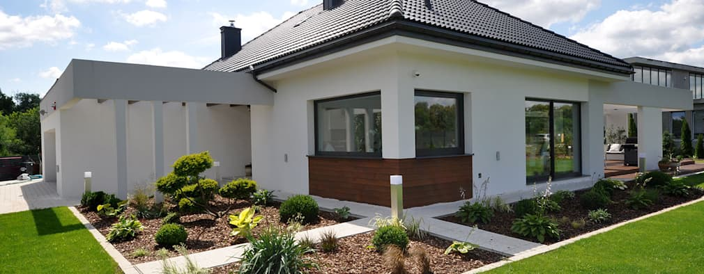 Una casa bellissima a un piano for Nuove case a un piano